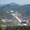 兵庫県加東市の三草山「畑コース」から巨大宗教施設を見る