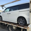 飯能市から車検の切れた故障車をレッカー車で廃車の引き取りしました。