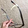 メガネずり落ち防止 ダイソーにて買い替え メガネストッパー