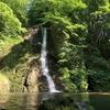 秋田県道317号線沿い『峨瓏大滝(がろうおおたき)』
