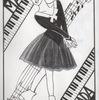 浅田真央イラスト・「バラード1番(ショパン)」 〜モノトーンにしてみました〜