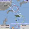 【台風情報】台風10号『アンピン』は20日から沖縄地方に接近!21日には暴風域を伴ってかなり接近する見込み!21日15時には中心気圧975Pa・中心付近の最大風速30m/s・最大瞬間風速45m/sの予想!!