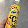 コカコーラ ファンタ レモン+C   飲んでみました