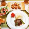 洋風ハンバーグの日のおうちごはん(3日分)/My Homemade Dinner/อาหารมื้อดึกที่ทำเอง