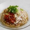 キムチ納豆冷しゃぶ蕎麦のレシピ