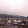 雨が近づく辰野町