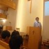 年長さんの会堂礼拝
