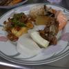 幸運な病のレシピ( 896 )朝:ピリ辛ハンペン炒め、春菊の味噌汁、鮭