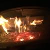 いつまで焚くの薪ストーブ