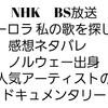 NHK BS放送【オーロラ 私の歌を探して】感想ネタバレ ノルウェー出身 人気アーティストのドキュメンタリー