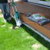 マキタの電動芝刈り機MLM160レビュー 手軽に芝刈り終了!
