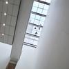 マンハッタンの窓拭き職人。ニューヨーク「The Museum of Modern Art」