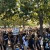 抗議デモに参加しました