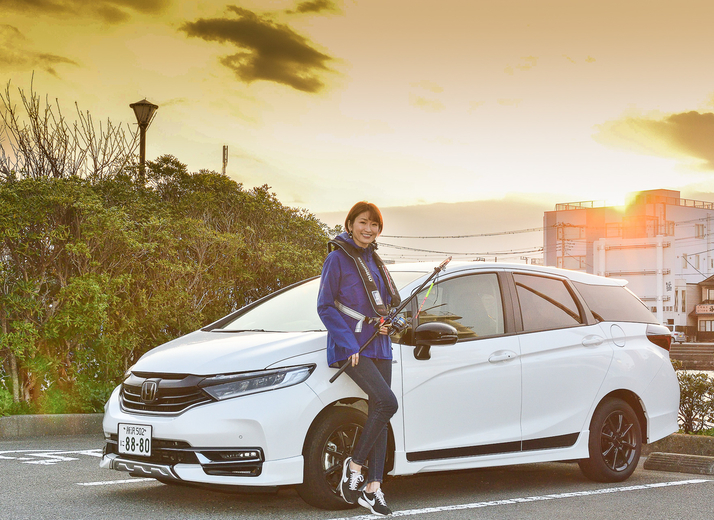 Honda シャトルで車中泊。三浦半島での初めての海釣りは爆釣に!