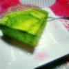 京都辻利兵衛の抹茶チーズケーキを食べました