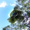 鏡のような神秘的な池 / 万座牛池  を THETA で撮影 #360pic