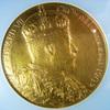 イギリス1902年エドワード7世戴冠大型ゴールドメダルNGC MS63