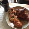 土曜の朝パン。
