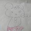 長男の英検と3歳妹の絵