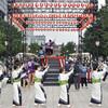 東京駅前で盆踊り…仕事帰りの会社員ら楽しむ