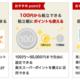 楽天カードによる投信積立(楽天証券)が開始。投信で100円につき1ポイント加算など