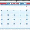 来年のカレンダーを買わなければ!