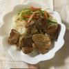 豚ヒレ肉焼き肉丼