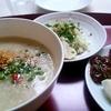 札幌市 神宮の杜 白鹿食堂 / お粥と食べ放題の漬物