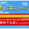 ネスレの定期便キャンペーンで5000円相当貰える!