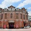 100年以上前のレンガ造りの建物「西門紅楼」