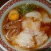 紅虎餃子房 エビ入りワンタン麺