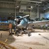 ハワイ・ホノルル:パールハーバー当時の戦闘機が保管されている太平洋航空博物館