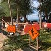 ドンタンビーチ工事進捗7月