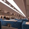 久しぶりに新幹線「のぞみ」に乗りました。