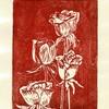 木版17:薔薇