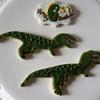 プライベートレッスンレポ。6歳になる双子の男の子へ贈る恐竜クッキー♫