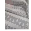 着物生地(301)横段に幾何学 紅葉織り出し十日町紬
