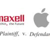 マクセルがAppleを訴えた特許を読んでみる (iPhone撮影中にFaceTimeで着信したら)