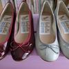 春になると洋服や靴がほしくなりますね。お気に入りのブランドと日傘とバレエシューズ。