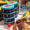 レアなかわいいクッキー缶【ヨックモック】と【モズ】のコラボ エルクの手作りクッキー