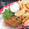 イギリスで食べられる  ビーガン フィッシュ&チップス in by CHLOE