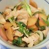 味ぽんのCM見て食べたくなった豚と大根のさっぱり炒め、にプラス珍食材。
