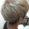 新潟 美容師 三林 ハイトーン ホワイトカラー 暑い過ぎる。。