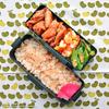 #796 鶏の照り焼きとタケノコご飯弁当