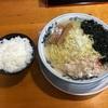 『拉麺 雅龍(まさしりゅう)』②「柚子塩ラーメン+ライス」秋田県大館市