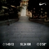 階段往復1,520段の筋肉痛からの夜ジョグ