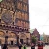 デンマーク&ドイツ&スイス旅「ハンブルクから日帰り旅へ!ブレーメンの聖ペトリ教会の光がやさしく包み込む」