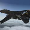 【Aerosoft】 F-14A用 ACECOMBAT5 ラーズグリーズ隊塗装