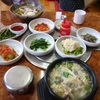 水原の食堂で(06.05.03) 韓国旅行2日目④