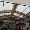 テント倉庫の施工例
